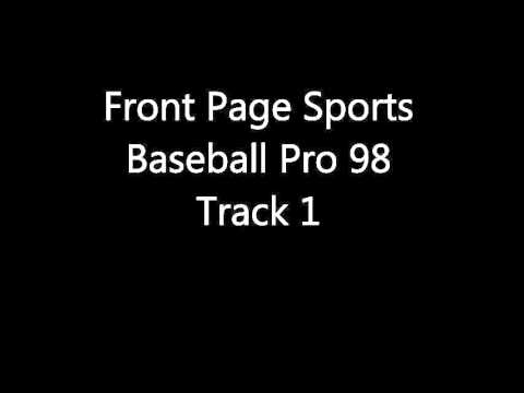 Front Page Sports: Baseball Pro 98 - Track 1