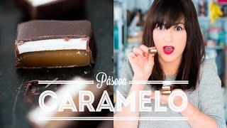 BOMBOM DE MARSHMALLOW E CARAMELO coberto de CHOCOLATE aka CHOCO CARAMELLOW | PÁSCOA | DANI NOCE