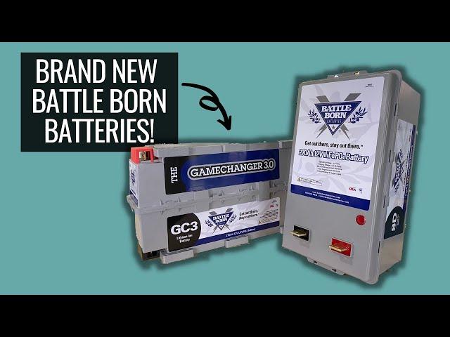 NEW GAMECHANGER 270ah lithium battery from Battle Born Batteries