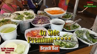 HD Vacation in Turkey Vol.6 - Oz Side Premium Hotel - Beach Bar & Beach Tour