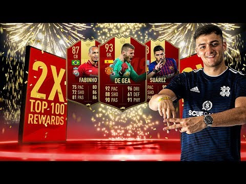 30-0 TOP 100 FUT CHAMPIONS REWARDS x2!! 25 INFORMS!! FIFA 19 ULTIMATE TEAM PACK OPENING!