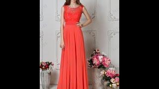 Вечернее платье Далила коралл TM PAULINE