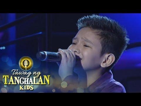 Tawag ng Tanghalan Kids: Justine Tan | Nais Ko