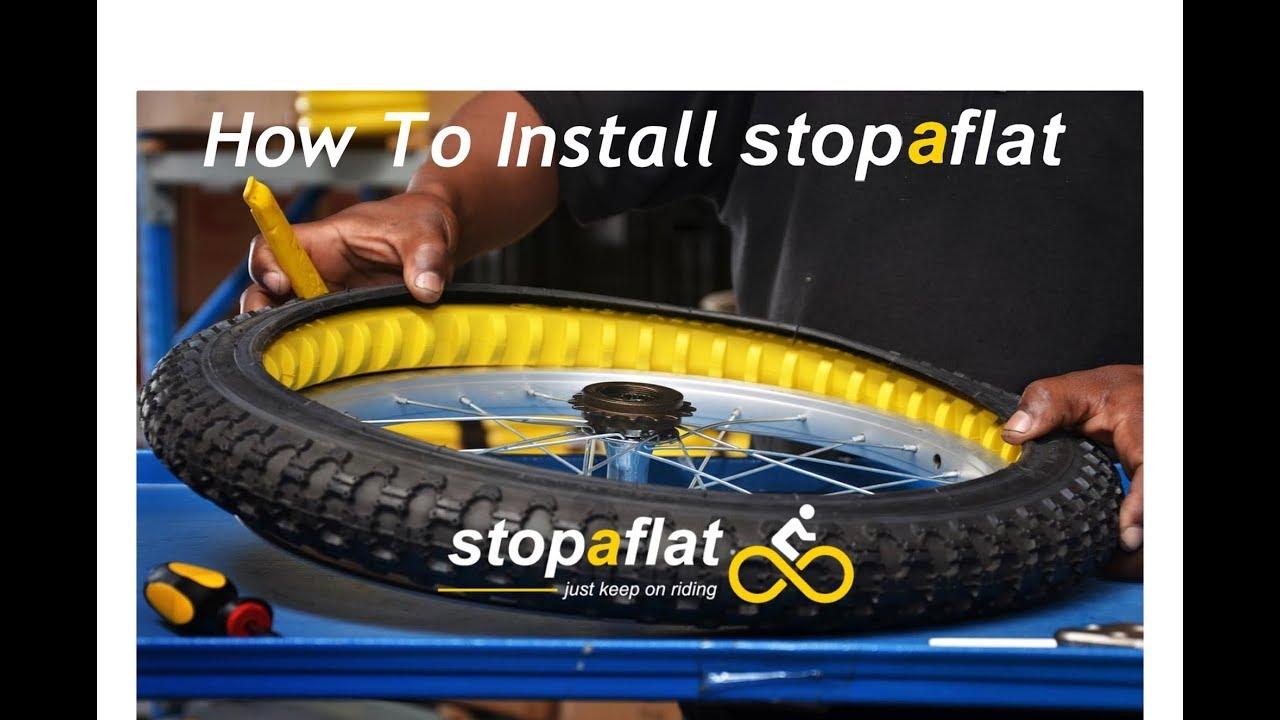 Stopaflat Bike//Cycling Inner Tube Stopaflat 700 x 38c