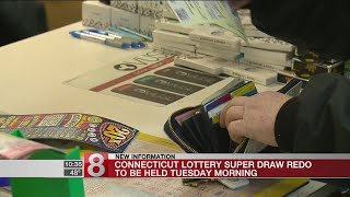 CT Lottery Super Draw re-do to be held Tuesday
