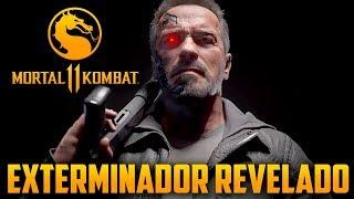 Exterminador do futuro no Mortal Kombat 11 revelado oficialmente, novo trailer incrível