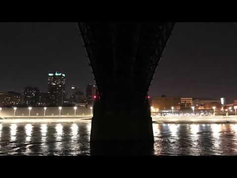 Gateway Arch and STL bridges