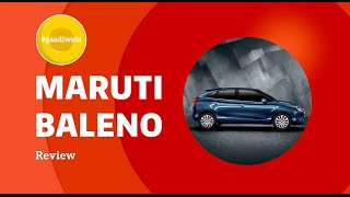 10 Reasons to buy Maruti Suzuki BALENO | #Gaadiwala(Maruti Suzuki Baleno is the BEST premium hatchback car according to #Gaadiwala Ankit Vengurlekar. From it's best in class looks to ride quality to a low cost of ..., 2015-12-18T05:32:32.000Z)