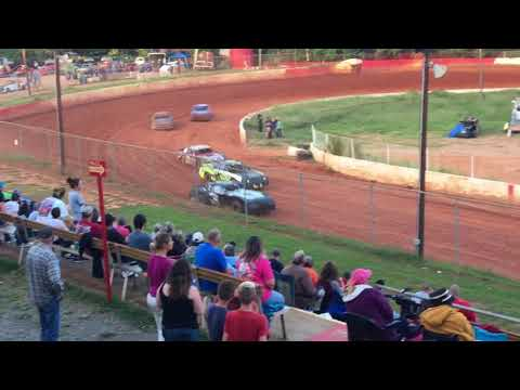 "Carl""MailMan""Maree #2 Renegade Car-September 9,2017-East Lincoln Speedway-Heat Race WIN!!!"