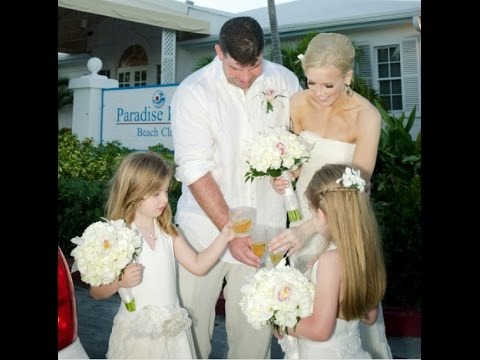 Small Vow Renewal in Nassau Bahamas