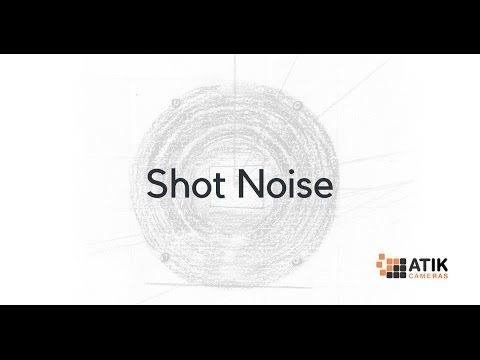 Shot Noise in CCD Cameras