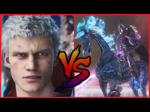 DMC5 ▰ Nero Vs SDMD Elder Geryon Knight【Devil May Cry 5】