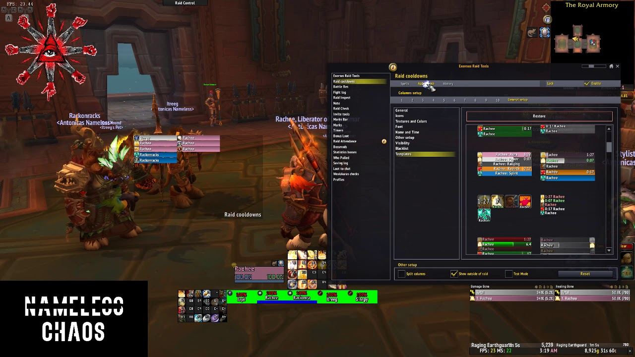 Download How to track cooldowns and interrupts with Exorsus Raid Tools