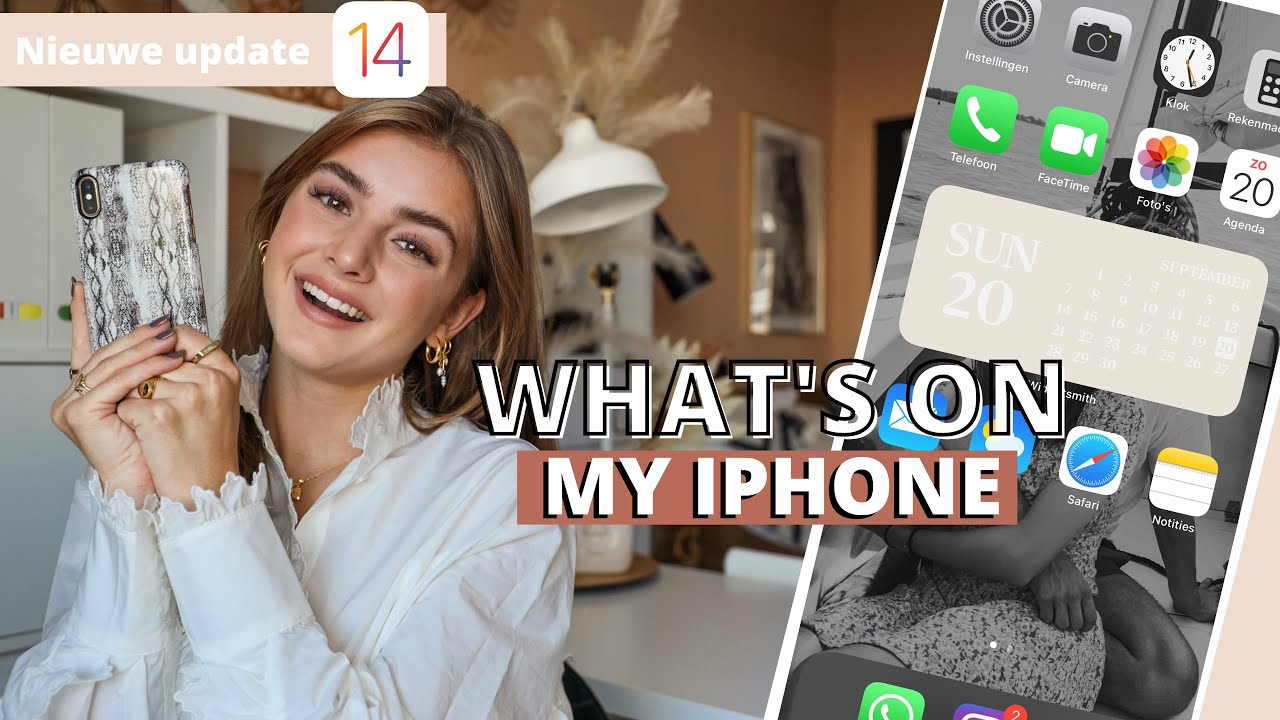 What's on my iPhone? iOS 14 Update | R O S A L I E