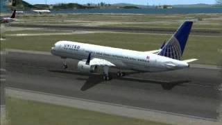 Journey Around the World Leg 5 - United 757 San Francisco - Chicago (FS2004)
