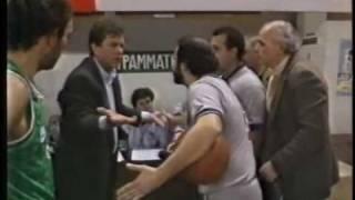 PAO vs Olympiakos 81-84 Greek League 1992