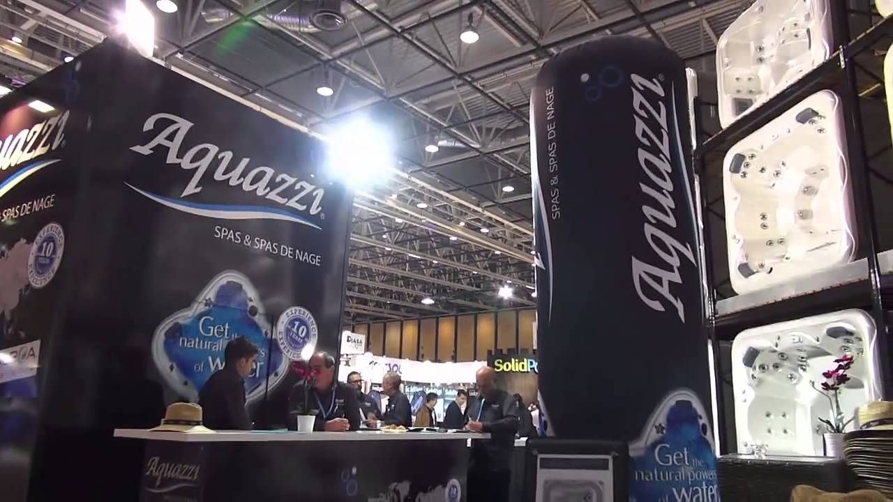 salon du spa lyon 2014 aquazzi youtube