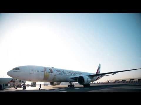 First Flight | New Emirates Boeing 777 | Emirates Airline