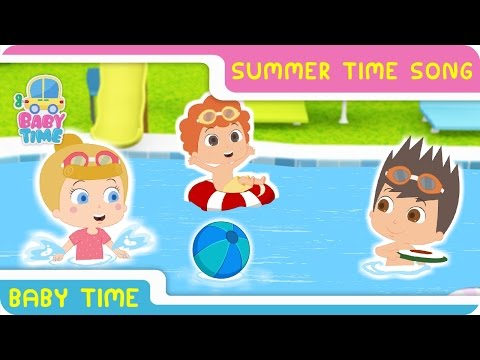 Summer Time Songs With Lyrics   Kids Play Time   Nursery Rhymes For Kids