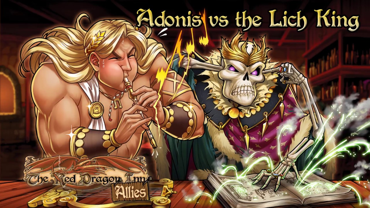 SlugFest Games - Adonis vs  The Lich King