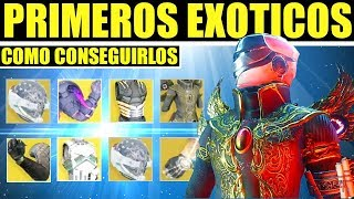 Destiny 2: COMO CONSEGUIR LOS PRIMEROS EXÓTICOS!