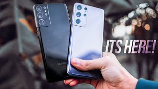 Unboxing the final samsung galaxy s21 ultra details, specs, official images, exynos 2100 official, no charger / akg headphones, s pen & more. ultr...