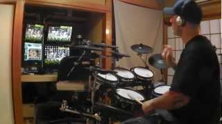 "Will Bloodfarm - IRON MAIDEN ""Alexander The Great"" Drum Cover"