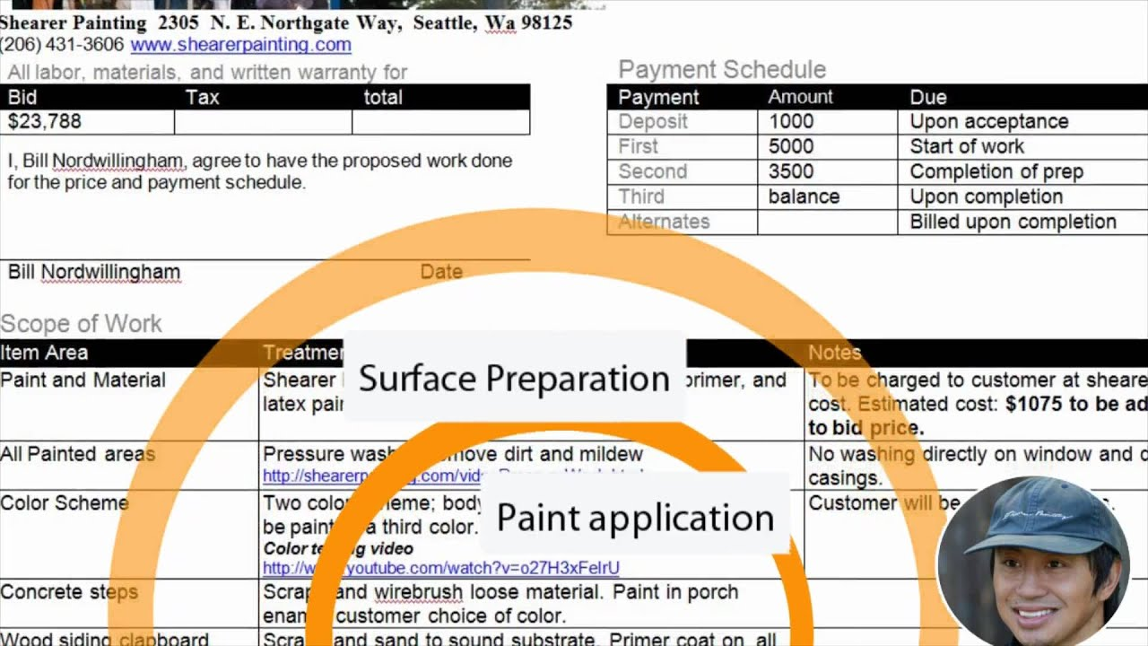 house painting estimate youtube on house painting estimation id=16621