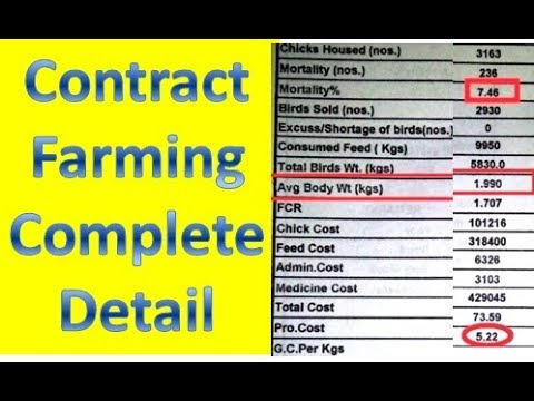 Contract farming and vertical integration in agriculture