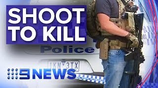 Victorian police given shoot-to-kill powers to stop vehicle attacks