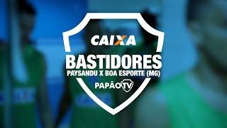 Bastidores - Paysandu x Boa Esporte (MG) - 04/06/2018