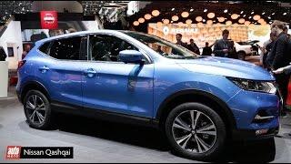 2017 Nissan Qashqai restylé [LIVE SALON GENEVE] : le roi se mue