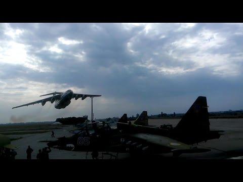 Low Pass Il-76MD Ukrainian Air Force