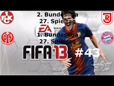 Let's Play FIFA 13 (Wii U) #43 - 27. Spieltag 2. und 1. Bundesliga