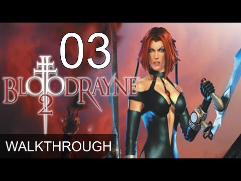 Bloodrayne Gameplay Part 33 Hard Difficulty Hd Youtube