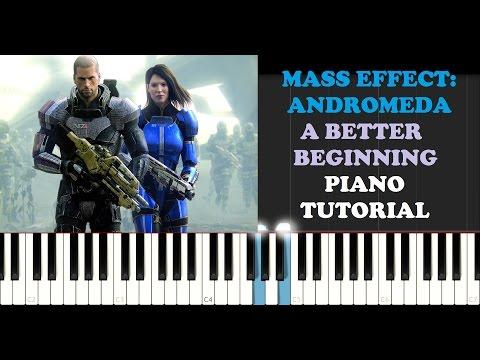 Mass Effect: Andromeda - A Better Beginning (Piano Tutorial)