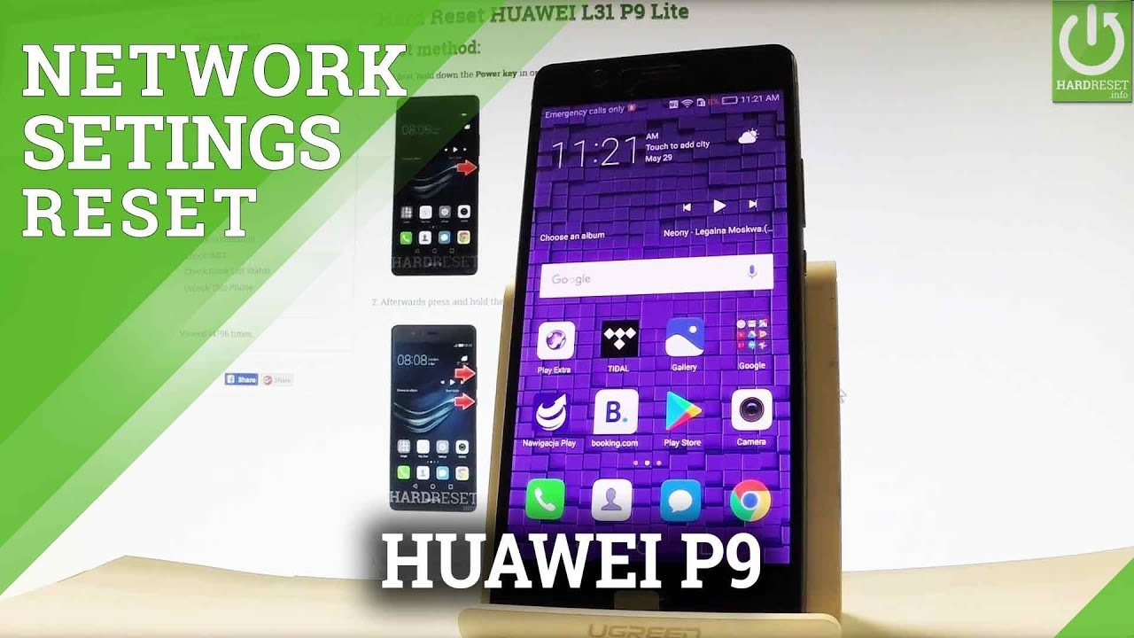 how to fix settings on a huawei