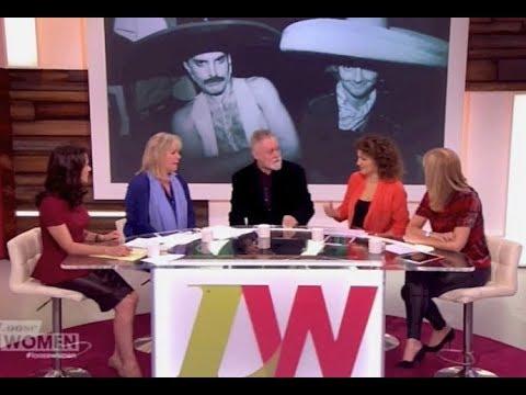 Queen's Roger Taylor  Loose Women 27 Nov 2014