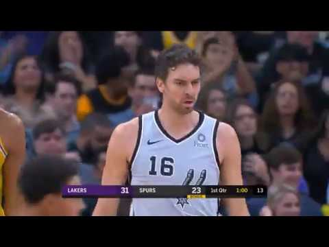 Pau Gasol vs Lakers (27 - 10 - 2018)