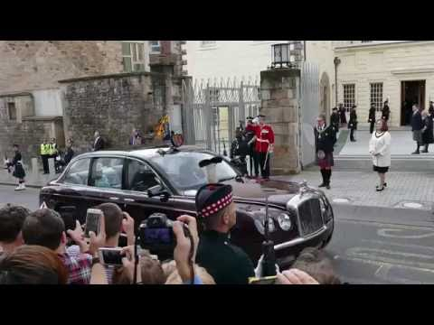Her Majesty Queen Elizabeth opens 5th Scottish Parliament - Edinburgh [4K]