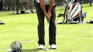 Close up Lucas Glover hands PGA Championships