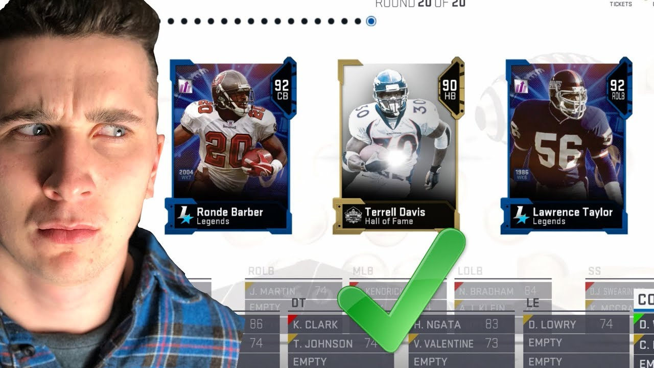 DRAFTING Whatever Player I Want! Madden 19 Draft