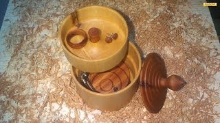 Wood Turning A  Jewelrybox [hd]