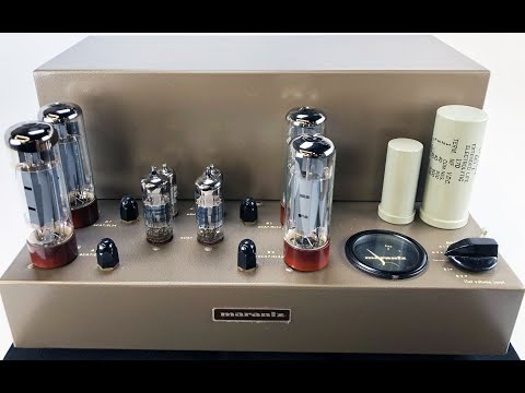 Marantz 8B Stereo Tube Amplifier, Highly Collectible - Video Review