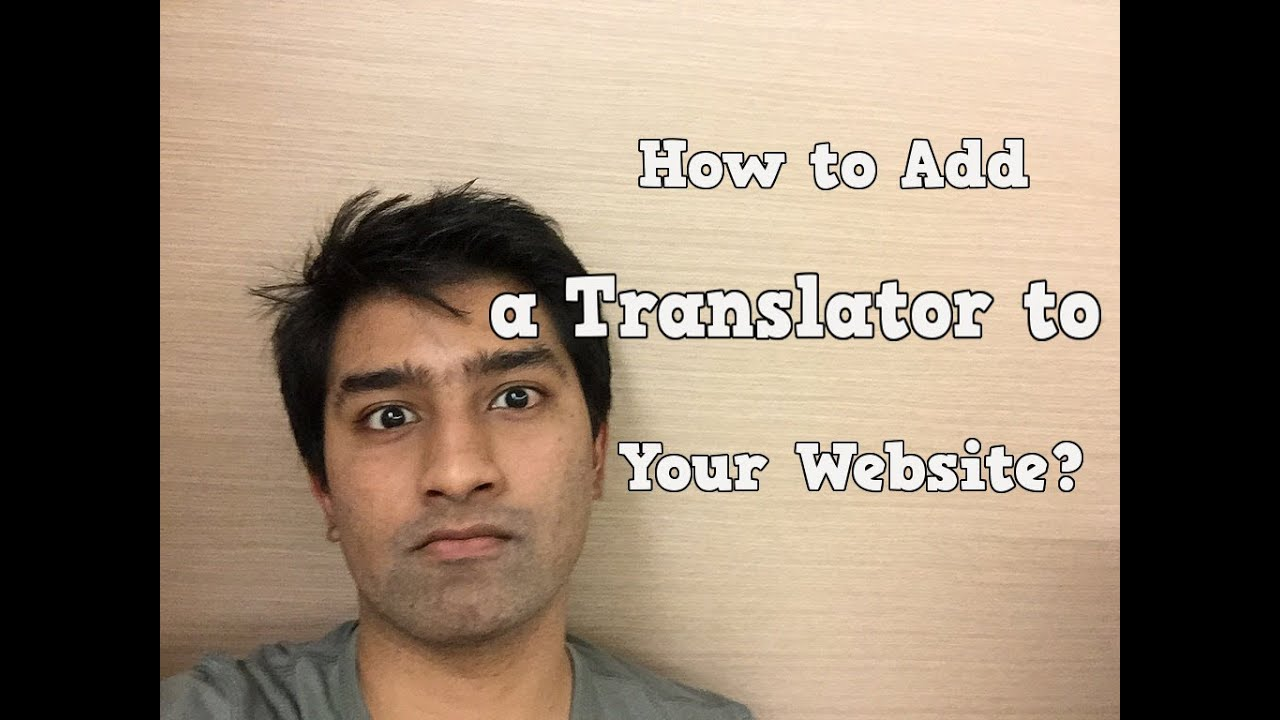 how to add google translate to your website