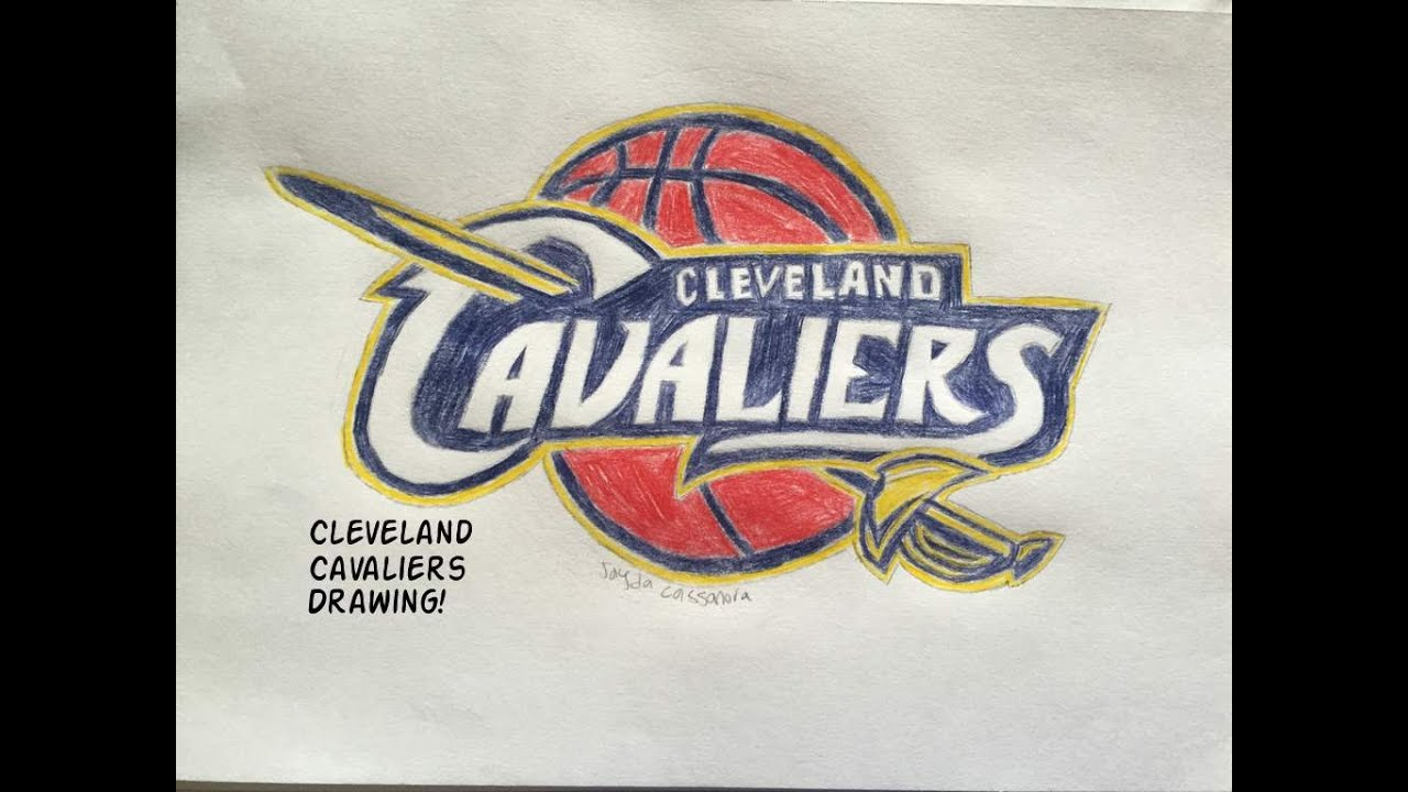 Cleveland Cavaliers Logo Drawing Time Lapse Youtube