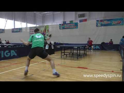Isakov-Ivonin.Quarterfinale.Russian Junior Table Tennis Championship 2017. FHD.