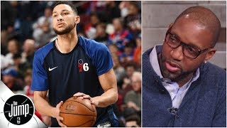 """Rachel Nichols, Tracy McGrady and Jackie MacMullan of The Jump to play """"Make/Miss,"""" to discuss Ben Simmons' passing (with T-Mac telling the Philadelphia ..."""