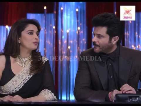 Jhalak dikhla jaa 6 - Anil Kapoor came for promoting his upcoming Colors show 24 India in JDJ6 SF