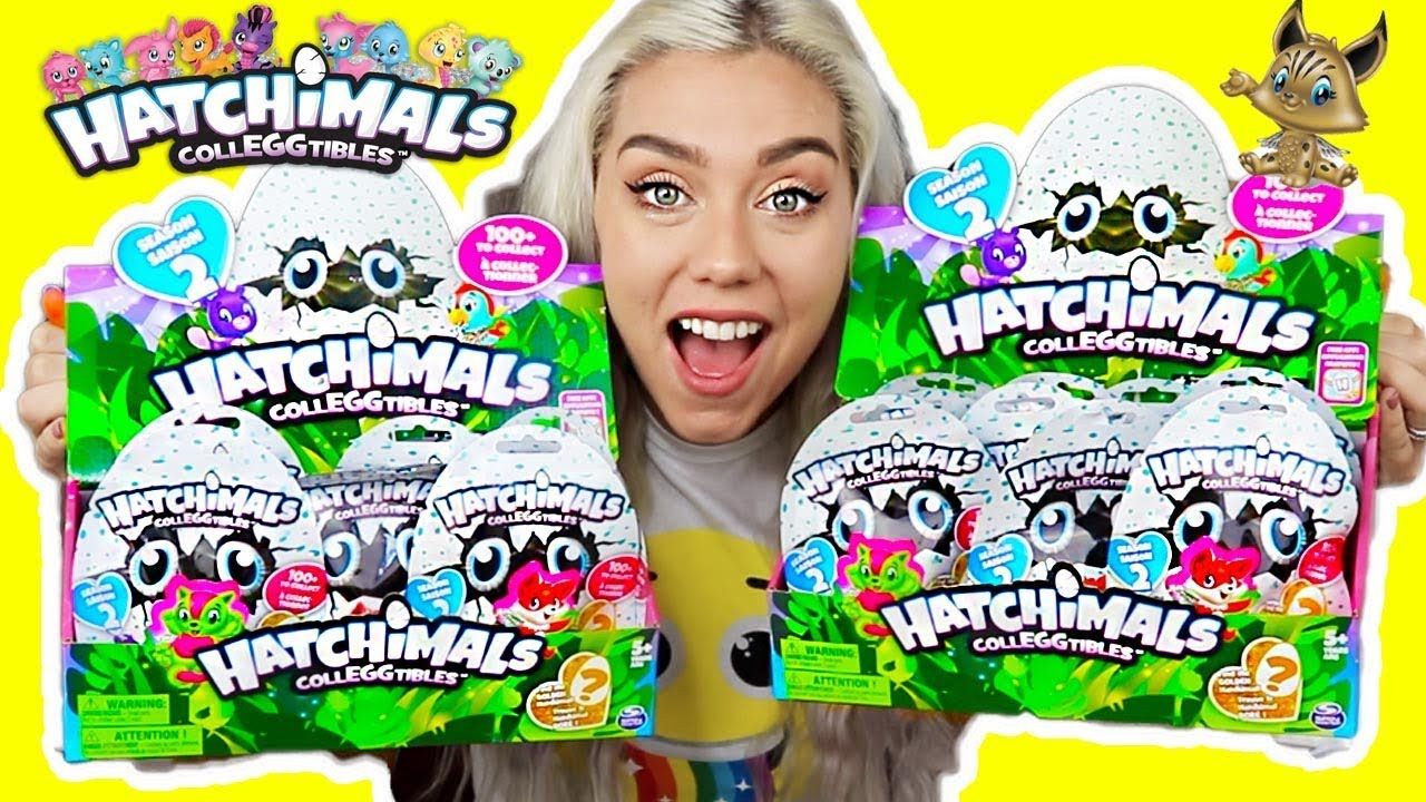 Opening 18 Hatchimalcolleggtibles Blind Bags Search For